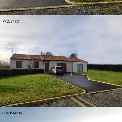 Extension maison terves