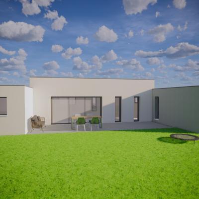 Maison moderne / Projet Bressuire