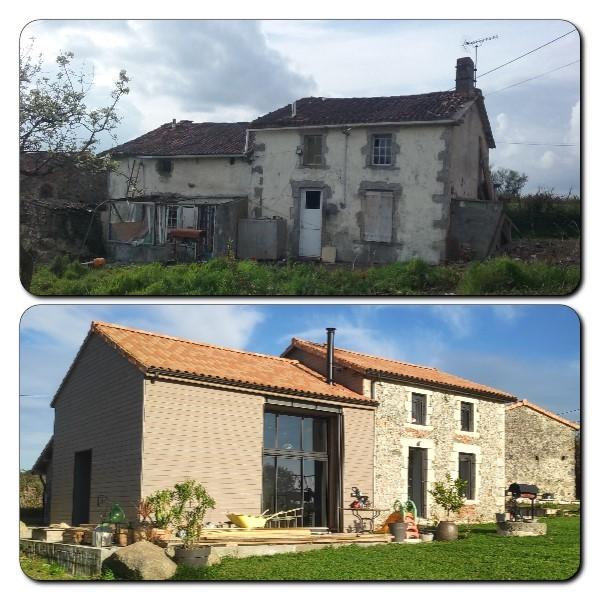 Rénovation globale d'une maison à La Chapelle-Saint-Laurent