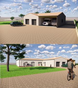 Extension maison gabhabitat construction deux sevre 1